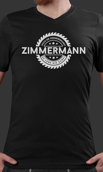 T-Shirt Philipp Säge Zimmermann