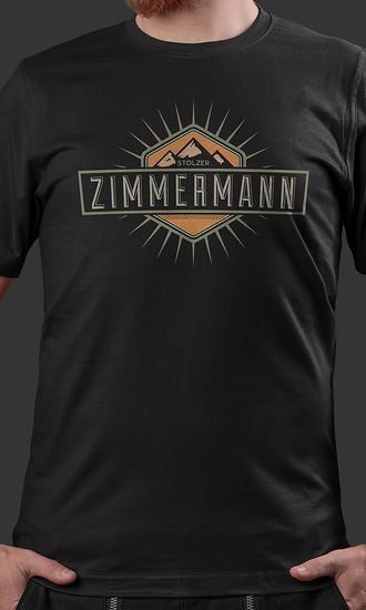 T-Shirt Raphael Mountains Zimmermann
