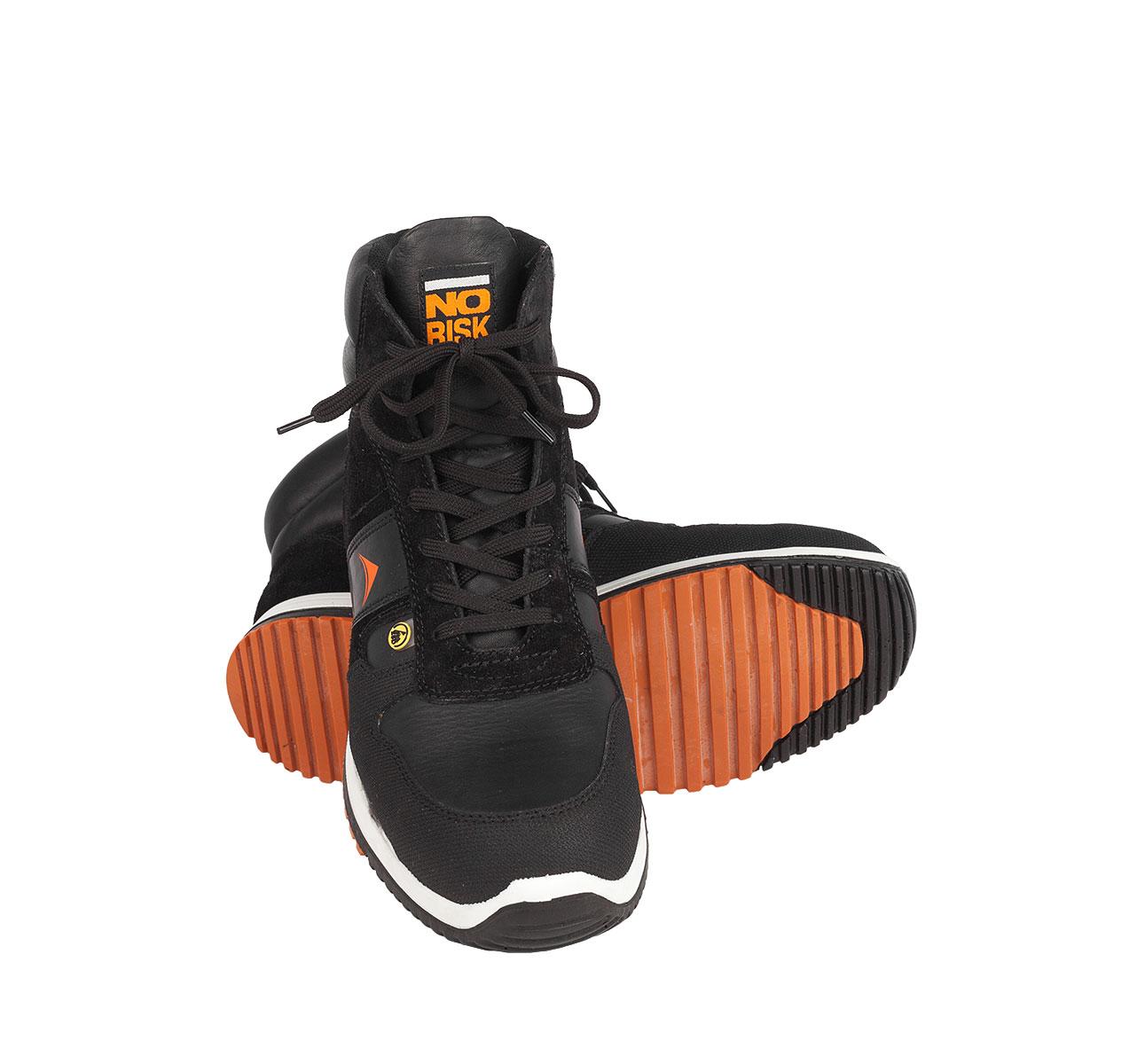 NO RISK Sicherheitssneaker Jumper S3 schwarz