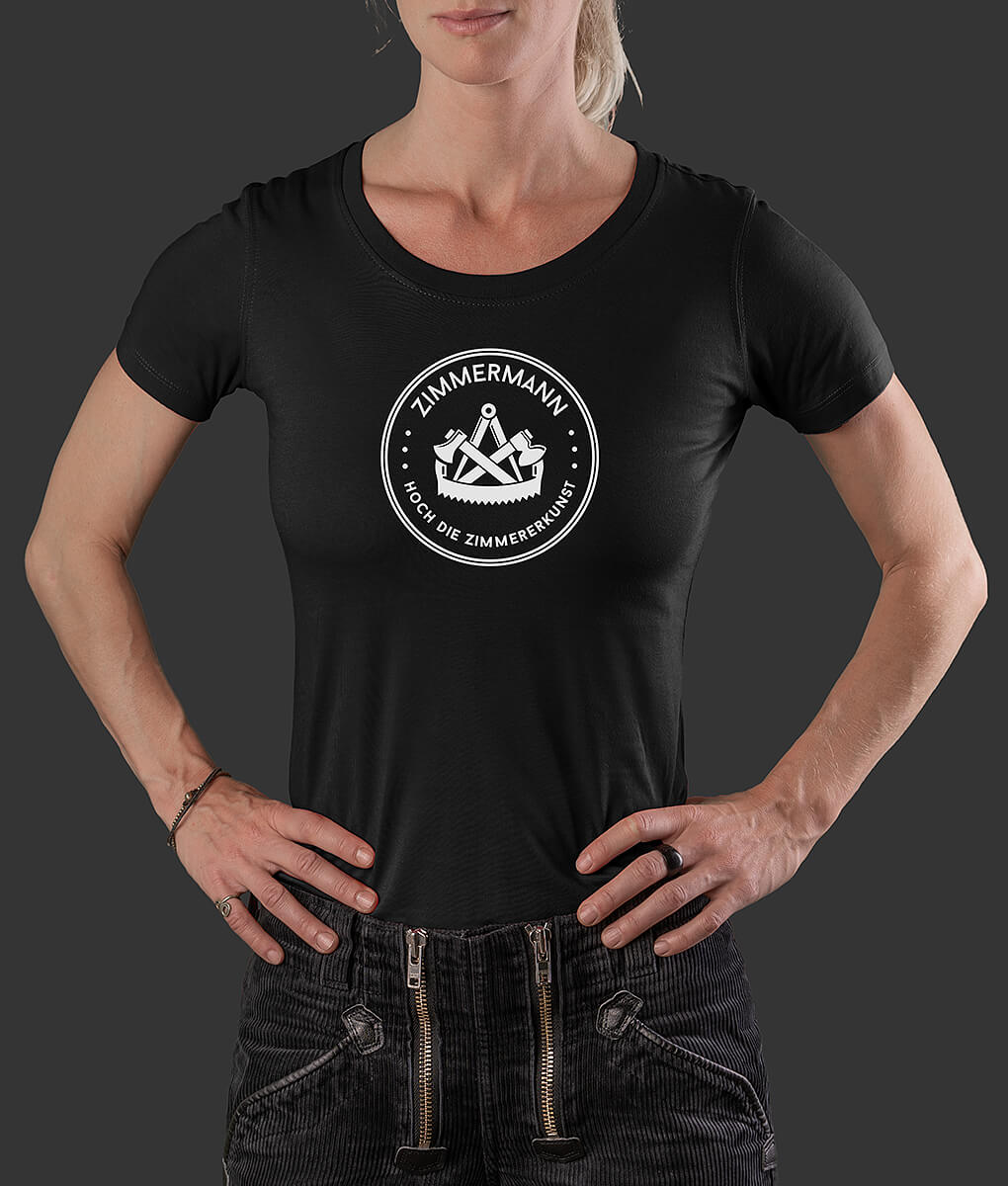 Damen T-Shirt Ida Siegel Zimmermann