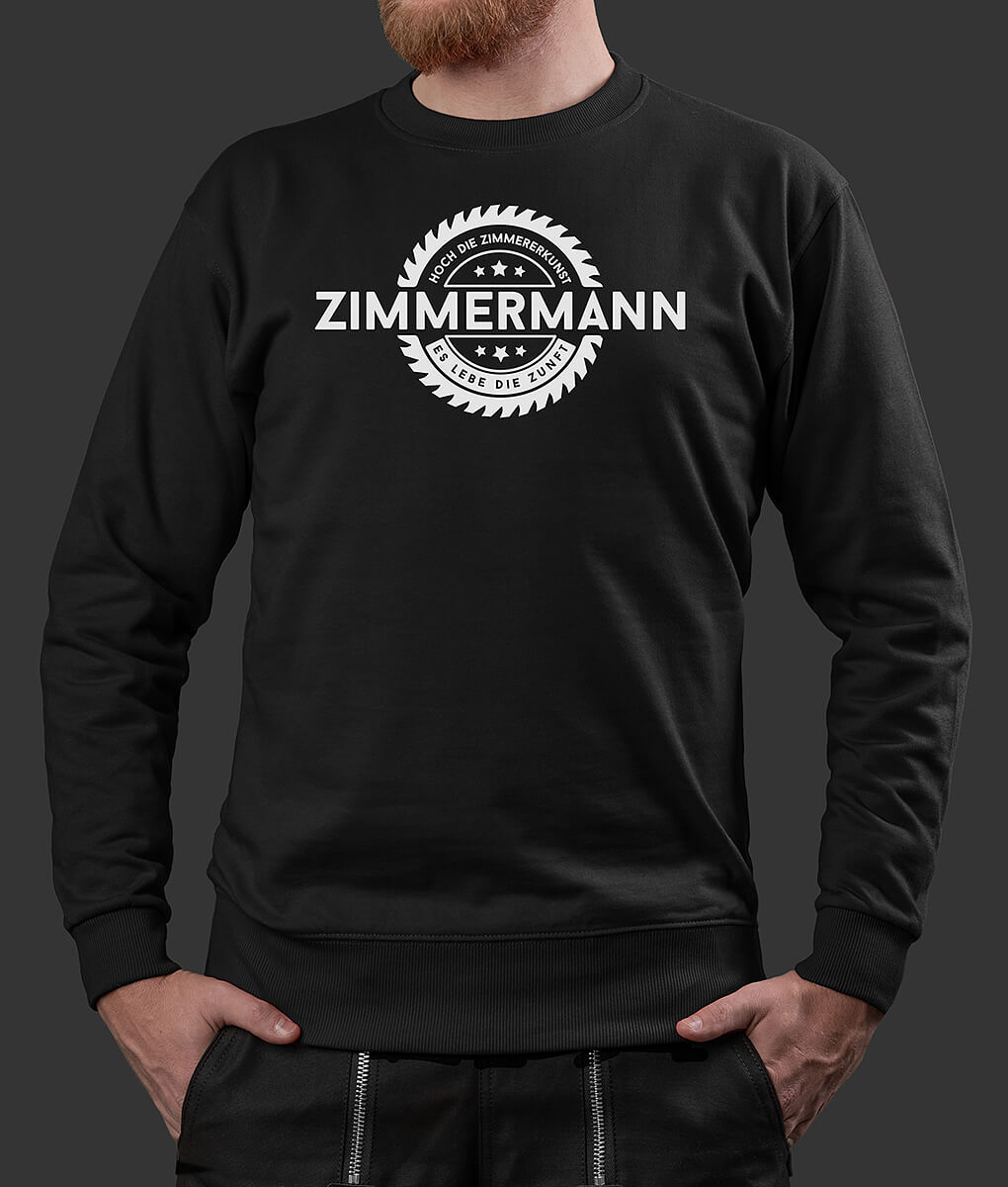 Sweater Stefan Säge Zimmermann